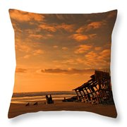 Final Resting Place Throw Pillow