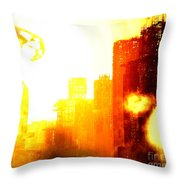 Final Strike Throw Pillow
