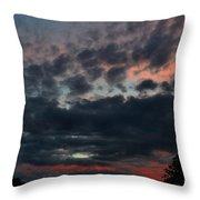 Final Sunset Fling Throw Pillow