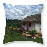 Finales Valley Home Throw Pillow