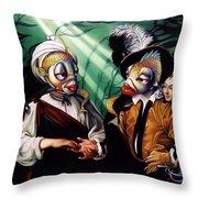 Finamorata Throw Pillow