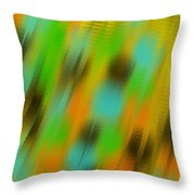 Coming Or Going Throw Pillow