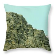 Find The Climbers Throw Pillow
