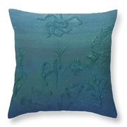 Find The Lionfish Throw Pillow