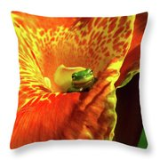 Find Your Happy Place Throw Pillow