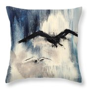 Find Your Peace. Throw Pillow