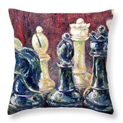 Find Your Piece Throw Pillow