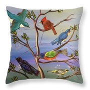 Find Your Song Throw Pillow