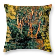Finding Enchantment Throw Pillow
