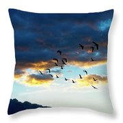 Finding Formation Throw Pillow