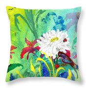 Finding Hope Throw Pillow