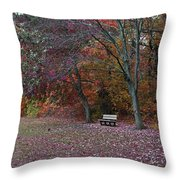 Finding Inner Peace Throw Pillow