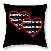 Finding Love After Darkness Throw Pillow