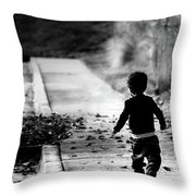 Finding My Way Home Throw Pillow