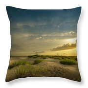 Finding My Way Throw Pillow