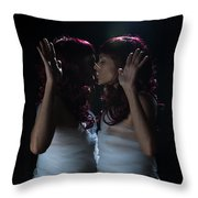 Finding Oneself On The Other Side Throw Pillow