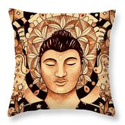 Finding Peace 4 Throw Pillow