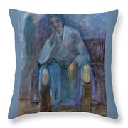 Finding Peace Throw Pillow