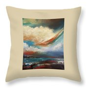 Finding Relief Throw Pillow