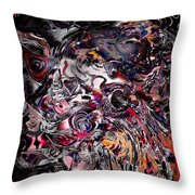 Finding Savage Colors In Another Kingdom. Throw Pillow