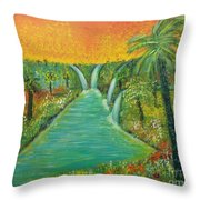 Finding That Place Throw Pillow