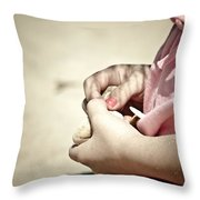 Finding Treasures Throw Pillow