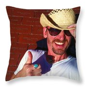 Finding Your Brick 2 Throw Pillow