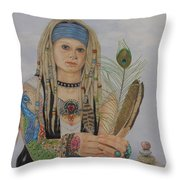 Findings Throw Pillow