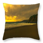 Fine Art Colour-197 Throw Pillow by Joseph Amaral