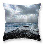 Fine Art Colour-199 Throw Pillow by Joseph Amaral