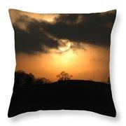 Fine Art - Sunset 4 Throw Pillow