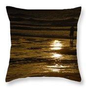 Fine Art- Waves Throw Pillow