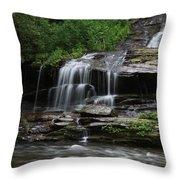 Fine Falls Throw Pillow