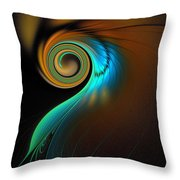 Fine Feathers Throw Pillow