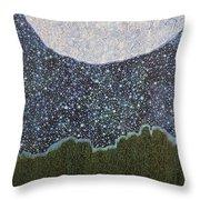 Fine Line Sky Throw Pillow