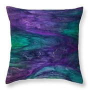 F.i.n.e. Throw Pillow