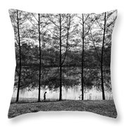 Fine Trees Throw Pillow