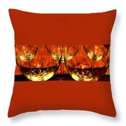 Fine Wine And Dine 1 Throw Pillow