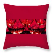 Fine Wine And Dine 6 Throw Pillow