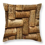 Fine Wine Throw Pillow