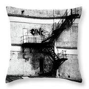 Fine  Words Throw Pillow