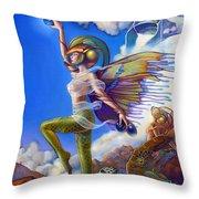 Finfaerian Quest Throw Pillow