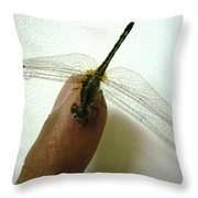 Finger Tip Throw Pillow
