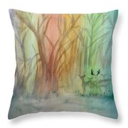 Finian's Rainbow Throw Pillow