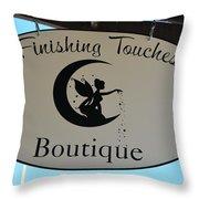Finishing Touches Boutique Throw Pillow