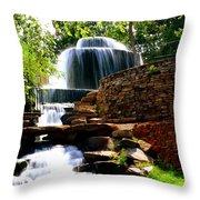 Finlay Park Columbia Sc Summertime Throw Pillow by Lisa Wooten