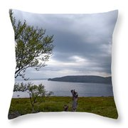 Finnmark Panorama Throw Pillow