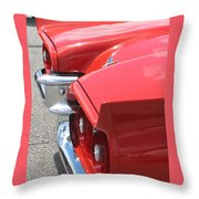 Fins Of Thunder Throw Pillow