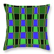 Fir Tree Fork Abstract #7075 Throw Pillow