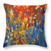 Fire And Flood Throw Pillow